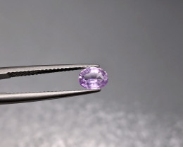 0.76 Cts NO HEAT Natural Pink Sapphire