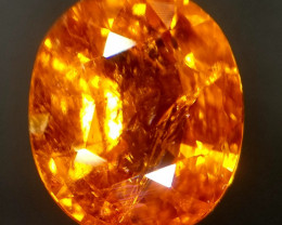 Spessartite, 2.10ct, a gemstone having charm and energy the same time!