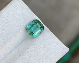 1.60 carats seaform blue colour Tourmaline Gemstone  From Afghanistan