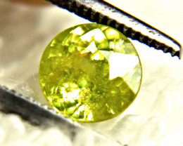 CERTIFIED - 1.14 Carat Natural Russian Sphene - Gorgeous