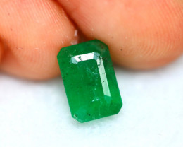 Emerald 1.82Ct Natural Colombia Green Emerald D0230/A37