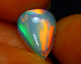 Welo Opal 1.61Ct Natural Ethiopian Play of Color Opal D0231/A3