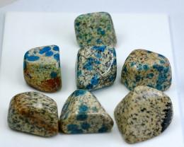 1280 CT Natural - Unheated Blue K2nite Tumble Lot