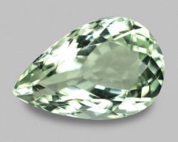 10.32  Cts Amazing Rare  Natural Green Amethyst Loose Gemstone