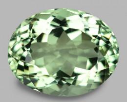 12.23  Cts Amazing Rare  Natural Green Amethyst Loose Gemstone