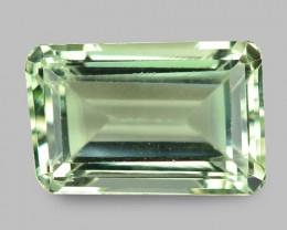 9.75 Cts Amazing Rare  Natural Green Amethyst Loose Gemstone