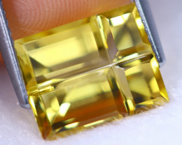 4.25cts Natural AAA Orangish Yellow Colour Citrine / RD1369