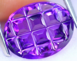 2.42cts Natural AAA Violet Purple Colour Amethyst / RD1388