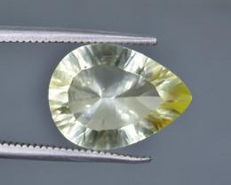 5.51 Crt Natural Lemon Quartz  Faceted Gemstone.( AB 56)