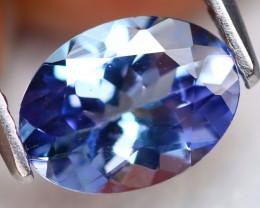 Tanzanite 1.20Ct VS Natural Oval Cut Vivid Purplish Blue Tanzanite B3006
