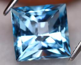 Blue Topaz 6.38Ct VVS Precision MasterCut Natural Sky Blue Topaz C3004