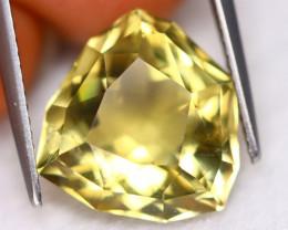 Prasiolite 7.60Ct VS Designer Fancy Cut Natural Brazilian Prasiolite C3021