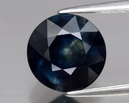 3.59 ct 8.8 mm Round Natural Green & Blue Sapphire Australia