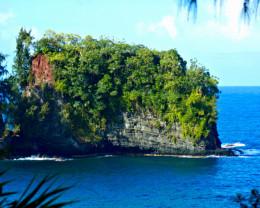 """""""Ship Rock"""" Big Island, Hawaii."""