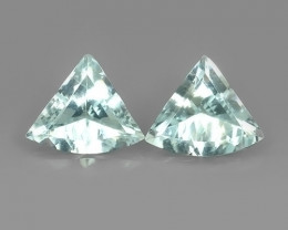 5.95 CTS Fascinating Luster Nice Fancy Shape Natural Aquamarine Excellent!!