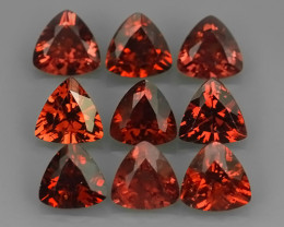 4.80 Cts_Trillon Cut_Marvelous_Electric_Africa_Sizzling_Rhodolite_~