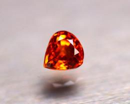 Garnet 1.14Ct Natural Vivid Orange Spessartite Garnet E0322/B34