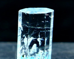 31.20 Cts Unheated ~ Natural Aquamarie Handmade Crystal
