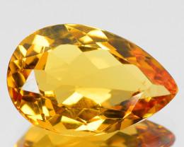 2.94 CTS NATURAL RARE GOLDEN YELLOW BERYL GEMSTONE