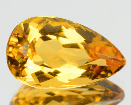 2.69 CTS NATURAL RARE GOLDEN YELLOW BERYL GEMSTONE