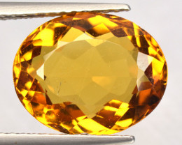 3.98 CTS NATURAL RARE GOLDEN YELLOW BERYL GEMSTONE