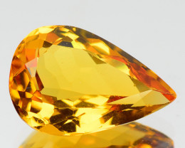 1.93 CTS NATURAL RARE GOLDEN YELLOW BERYL GEMSTONE