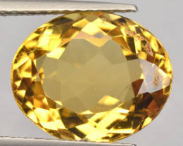 3.99 CTS NATURAL RARE GOLDEN YELLOW BERYL GEMSTONE
