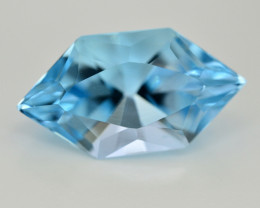 14.30  Ct Amazing Color Natural Blue Topaz ~ Swiss