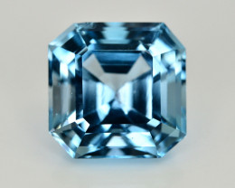 13.40 Ct Amazing Color Natural Blue Topaz ~ Swiss