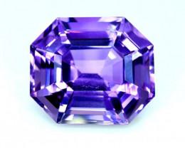 35.40 cts Natural Amethyst Fancy Cut Gemstone