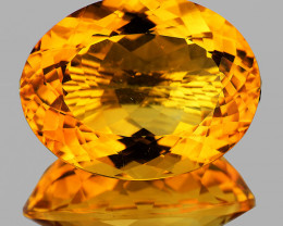 22x17mm Oval 22.95cts Golden Orange Citrine [VVS]