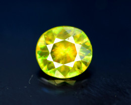 Sphene Titanite, 1.05 CT Natural Full Fire Sphene Titanite Gemstone