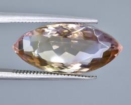 9.85 Crt  Ametrine Faceted Gemstone (Rk-27)