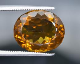 9.38 Crt  Conic Quartz Faceted Gemstone (Rk-27)