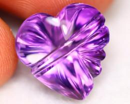 Amethyst 12.08Ct VVS Designer Piece Natural Bolivian Purple Amethyst A3124