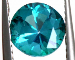 1.82 CTS  GREEN TOPAZ FACETED GEMSTONE  CG-2929