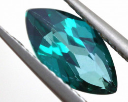 1.59 CTS  GREEN TOPAZ FACETED GEMSTONE  CG-2930