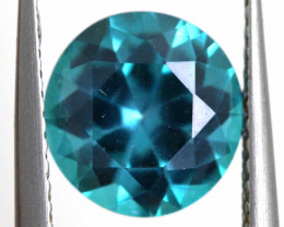 2.6 CTS  GREEN TOPAZ FACETED GEMSTONE  CG-2931