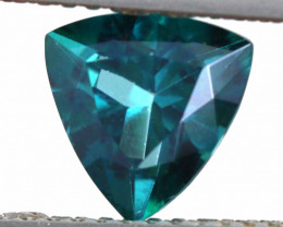1.40 CTS  GREEN TOPAZ FACETED GEMSTONE  CG-2932