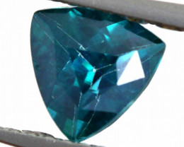 1.13 CTS  GREEN TOPAZ FACETED GEMSTONE  CG-2934
