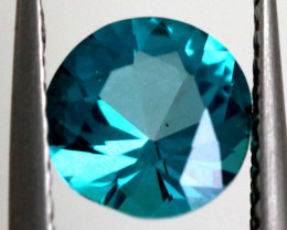 1.24 CTS  GREEN TOPAZ FACETED GEMSTONE  CG-2935