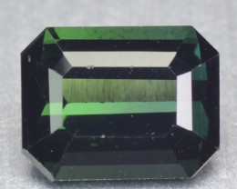 1.18 Cts Un Heated Green Color Natural Tourmaline Loose Gemstone