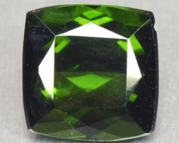 1.12 Cts Un Heated Green Color Natural Tourmaline Loose Gemstone