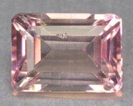 1.34 Cts Un Heated Pink Color Natural Tourmaline Loose Gemstone