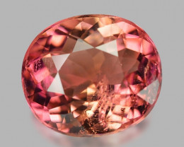 1.73 Cts Un Heated Pink Color Natural Tourmaline Loose Gemstone