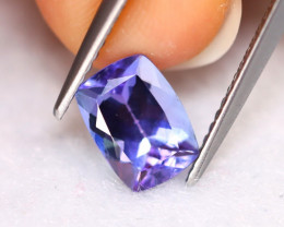 Tanzanite 1.57Ct Natural VVS Purplish Blue Tanzanite D0406/A45