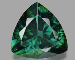 2.10 Cts Un Heated Blue Green Color Natural Tourmaline Loose Gemstone