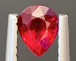 0.35 Carats Ruby Gemstone from mozambiq