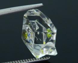 Rare 7.91 ct Natural Fluorescent Petroleum Quartz SKU.1