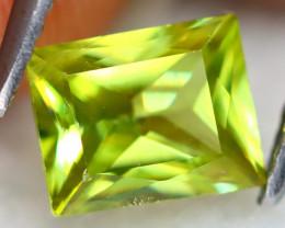 Sphene 1.18Ct Octogon Cut Natural Madagascar Vivid Color Sphene B1913